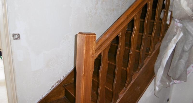 Mise En Peinture D Un Escalier Existant Peintures Du Gouessant